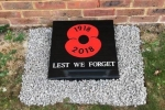 Poppy Plaque
