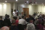 Johnny Mercer addresses the Wheathampstead Supper